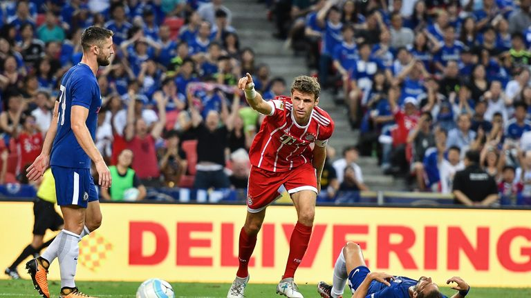 Muller scored against Chelsea in pre-season but has yet to find the net since the season began