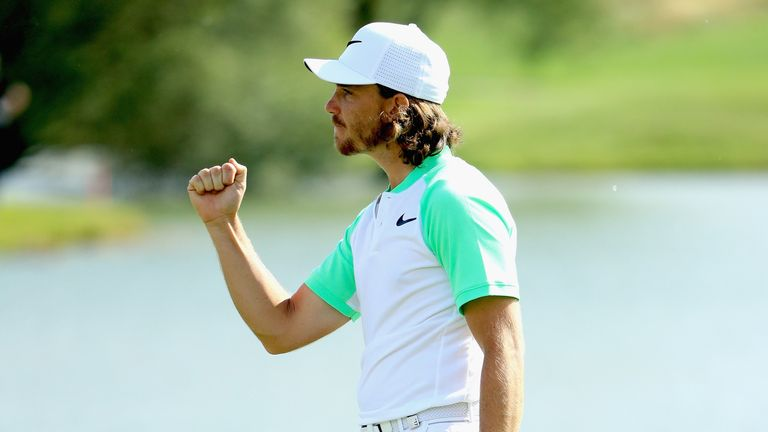 Fleetwood claimed a one-shot win over Peter Uihlein