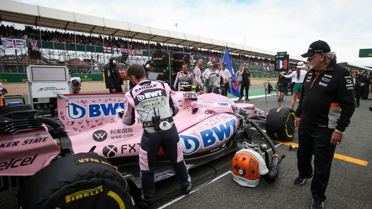 Force India Team News Standings Videos Formula