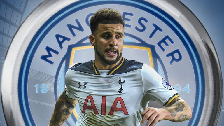 Kyle Walker is reportedly on the move to Man City