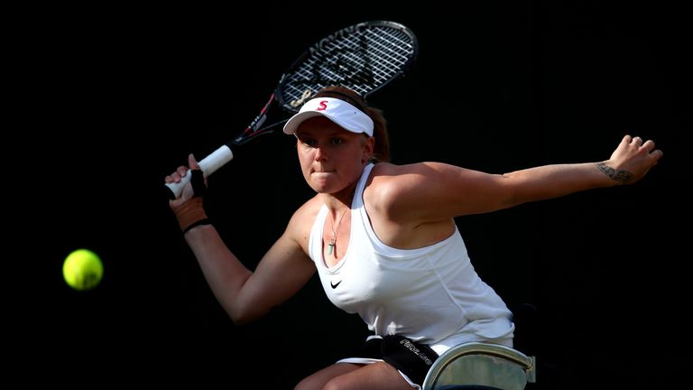 Whiley is a 10-time grand slam champion