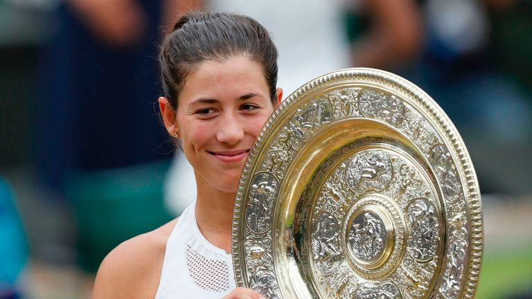 Garbine Muguruza's Wimbledon triumph has further inspired Garcia