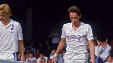 Peter Doohan beat Boris Becker in 1987