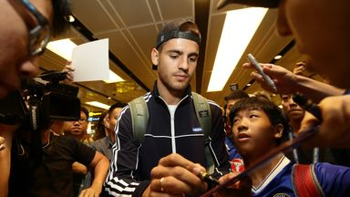 Alvaro Morata has joined the Chelsea squad in Singapore ahead of facing Bayern Munich in a friendly