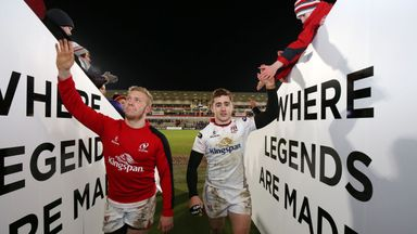 Paddy Jackson (right) and Stuart Olding (left) have been charged with rape and will appear in court in August