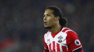 Virgil van Dijk will be back in a Southampton shirt on Monday