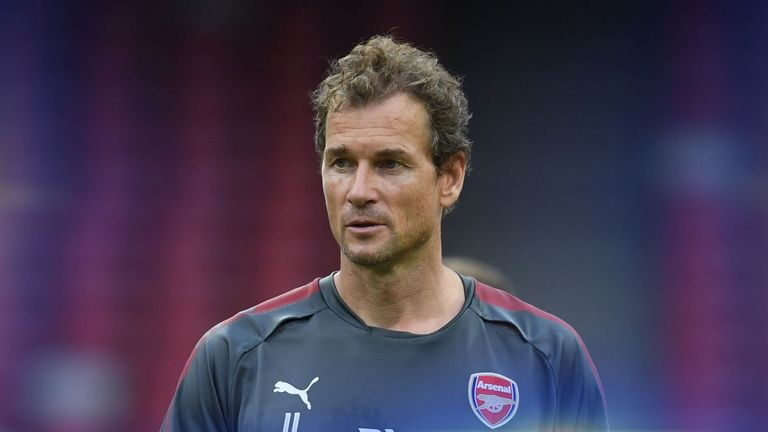 Former goalkeeper Jens Lehmann has returned to Arsenal in a coaching role