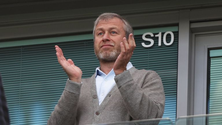 LONDON, ENGLAND - MAY 15:  Chelsea owner Roman Abramovich is seen prior to the Barclays Premier League match between Chelsea and Leicester City at Stamford