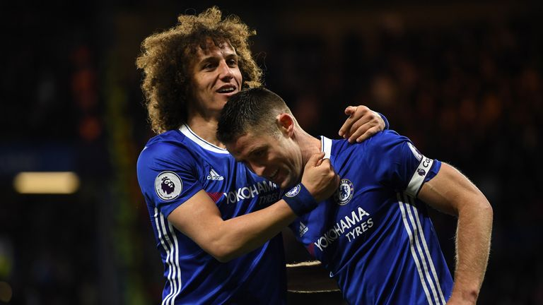 David Luiz expects Gary Cahill to be named Chelsea captain