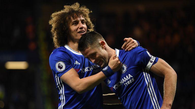 David Luiz expects Gary Cahill to be named Chelsea captain