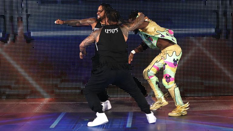 The Usos took out their frustrations on The New Day on Smackdown.