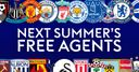 Who's a free agent in summer?