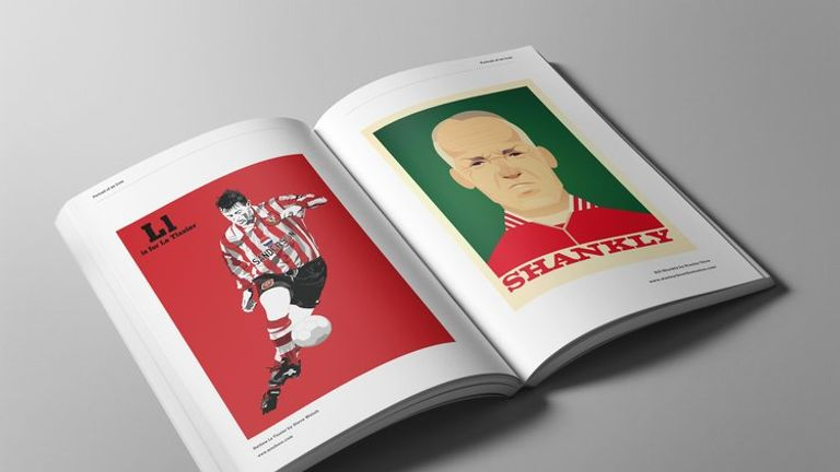 Sky Sports' own Matt Le Tissier is among those profiled in Portrait of an Icon