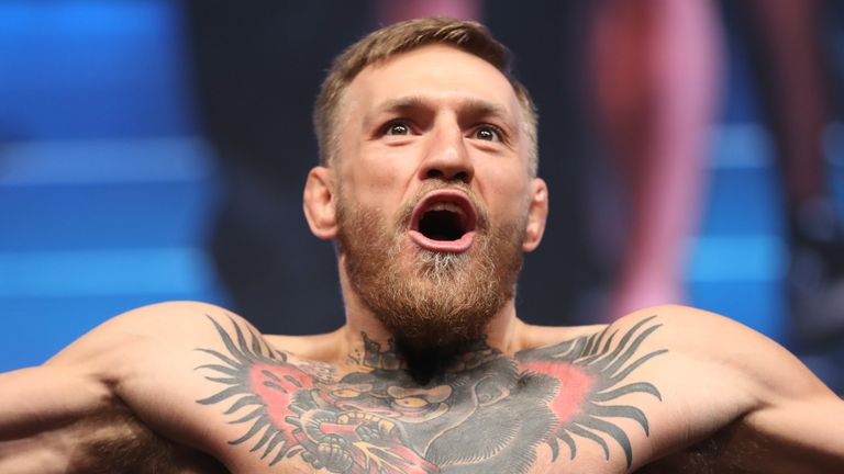 Conor McGregor has hinted at a potential title fight against UFC lightweight rival Tony Ferguson