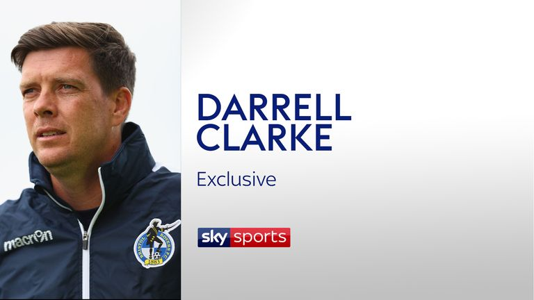 An exclusive Sky Sports interview with Bristol Rovers manager Darrell Clarke