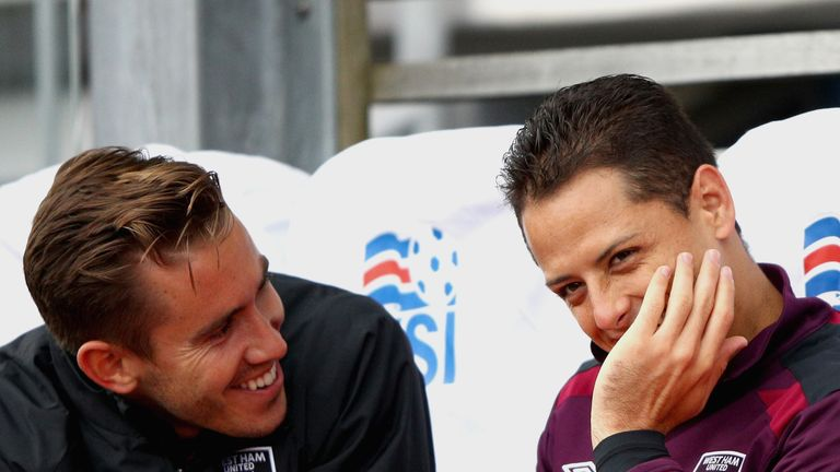 Former Manchester United striker Javier Hernandez has joined West Ham