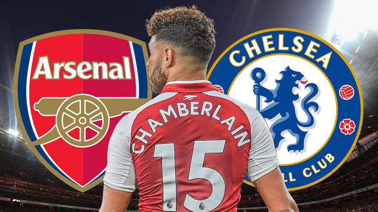 Alex Oxlade-Chamberlain is close to swapping Arsenal for Chelsea