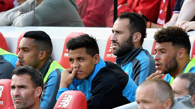 Alexis Sanchez has not handed in a transfer request, according to Arsenal