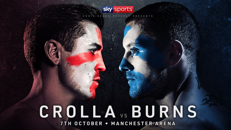 Anthony Crolla and Ricky Burns are battling to keep their world title hopes alive in Manchester on October 7, live on Sky Sports