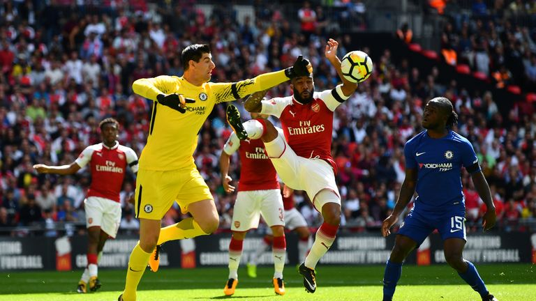 Alexandre Lacazette put in an encouraging performance for Arsenal