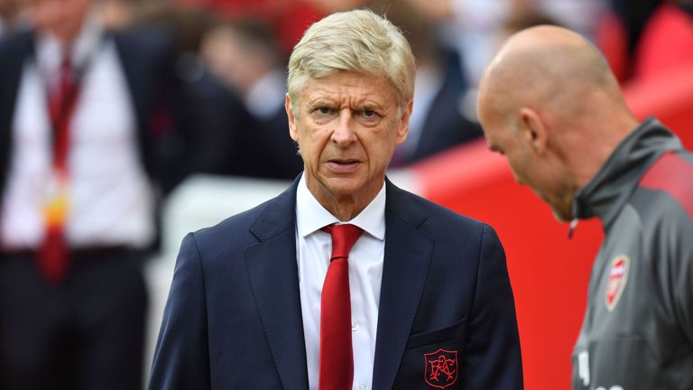 Arsene Wenger described his side's performance on Sunday as
