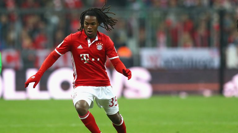 Renato Sanches close to completing a shock Premier League switch