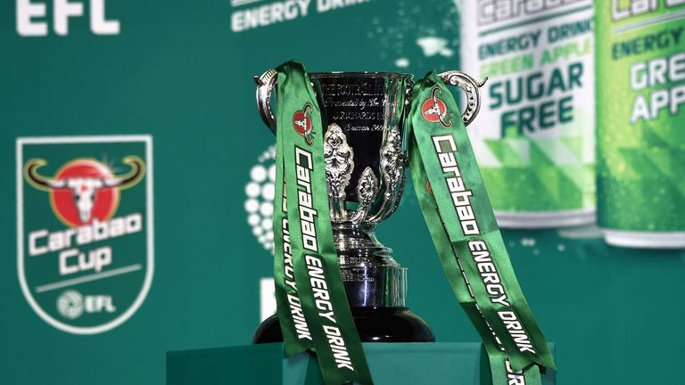 Draw for the second round of the Carabao Cup was made on Sky Sports News on Thursday