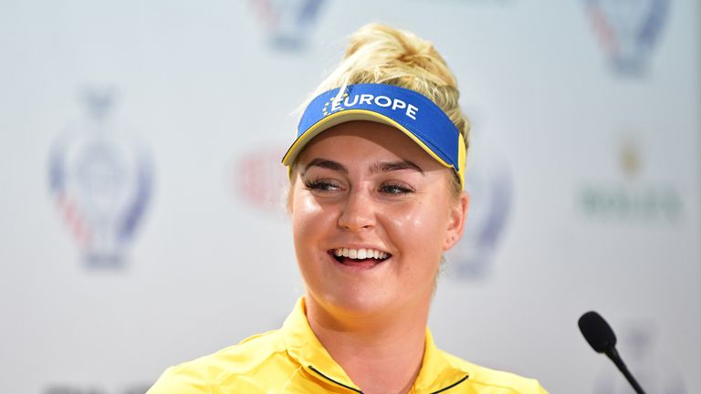 Charley Hull is looking forward to an awesome atmosphere