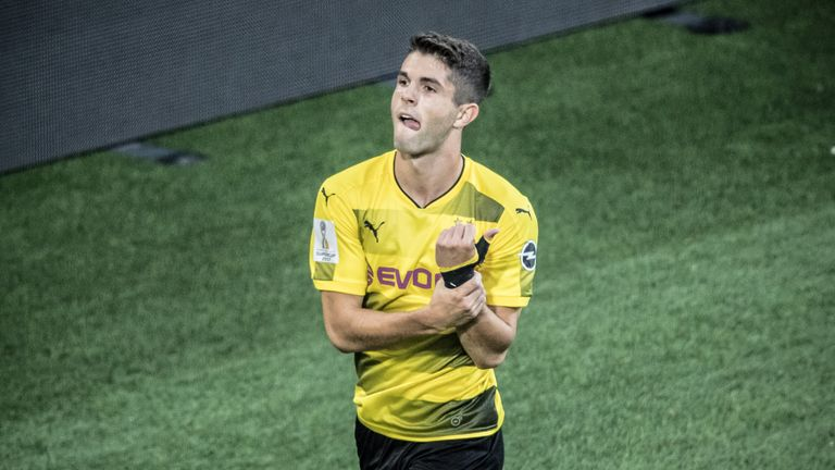 Christian Pulisic's dad denied his son was joining Liverpool