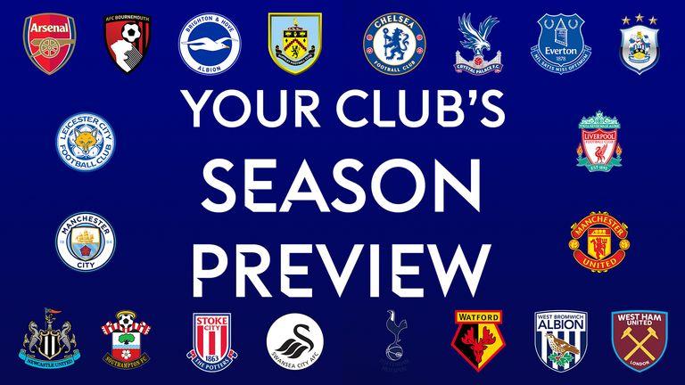 Premier League Clubs: Premier League 17/18 Season Previews: Get All You Need To
