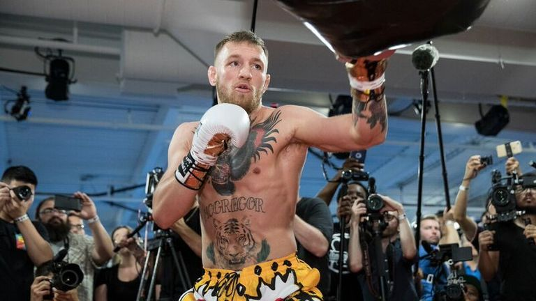 McGregor insists he is no stranger to boxing