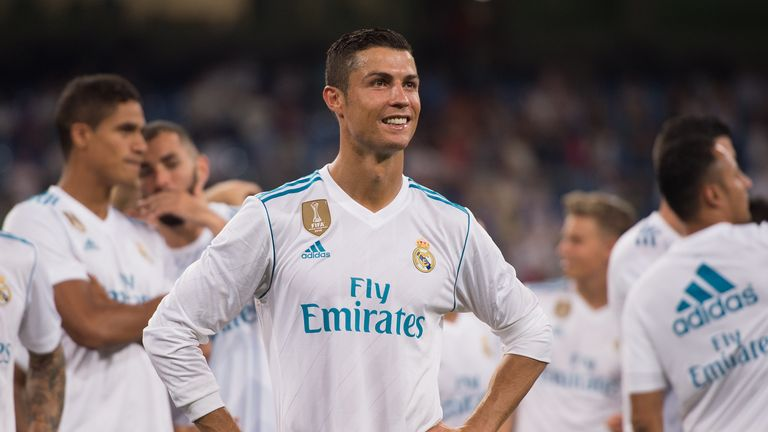 Cristiano Ronaldo is still suspended for Real Madrid