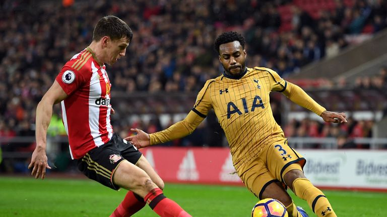 Danny Rose made his first Tottenham appearance of the season on Tuesday night, having been out injured since January 31
