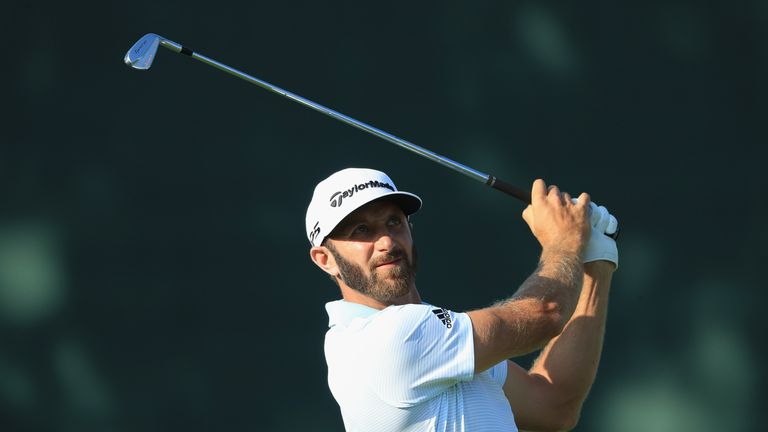 Johnson sits fourth in the FedExCup standings