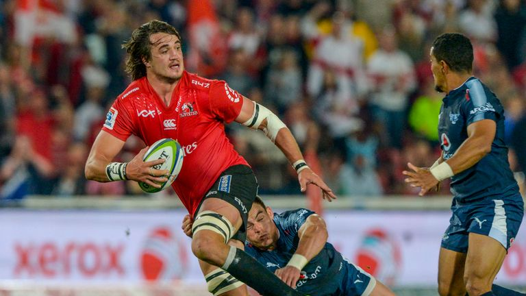 Franco Mostert has captained the Lions this year