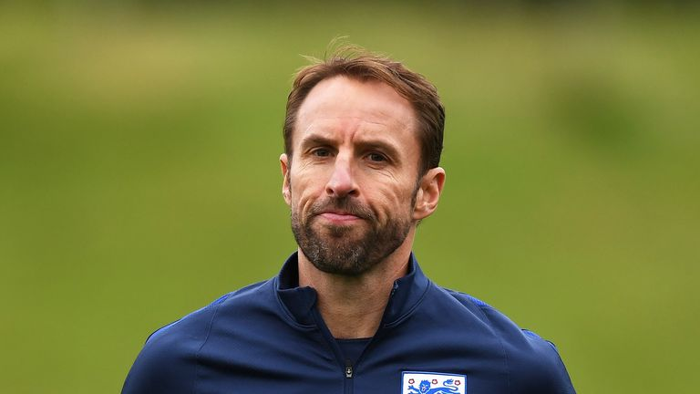 Southgate admitted he was not entirely happy with the group of players he had to pick from
