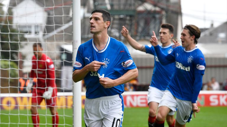 Graham Dorrans made the right first impression at Fir Park