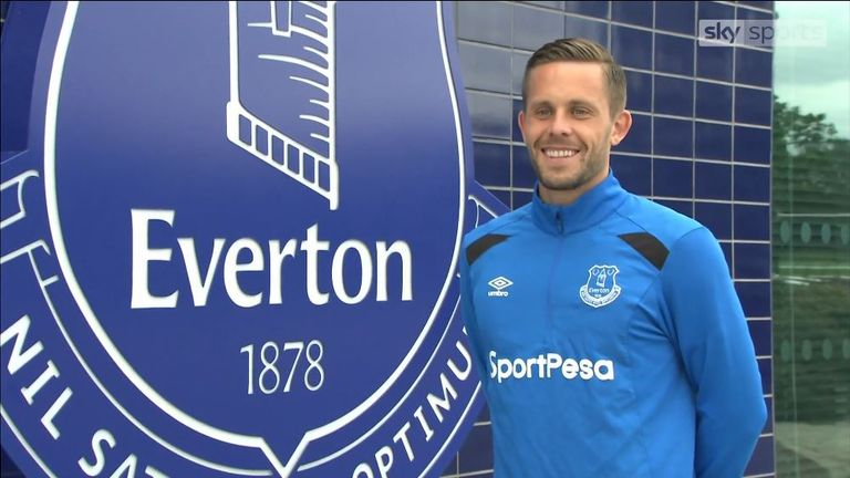 Gylfi Sigurdsson joined Everton from Swansea