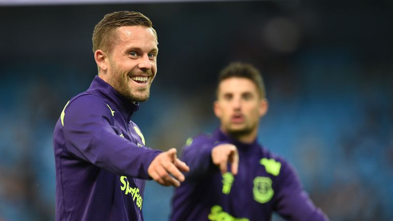 Gylfi Sigurdsson could make his first start since moving from Swansea