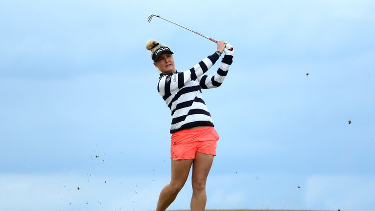 Charley Hull was pleased with her performance at Kingsbarns