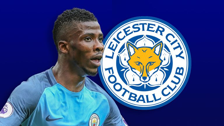 Man City striker Iheanacho completes Leicester switch