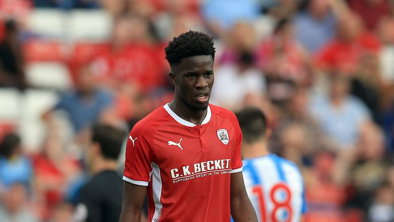 Ike Ugbo joined Barnsley on loan from Chelsea