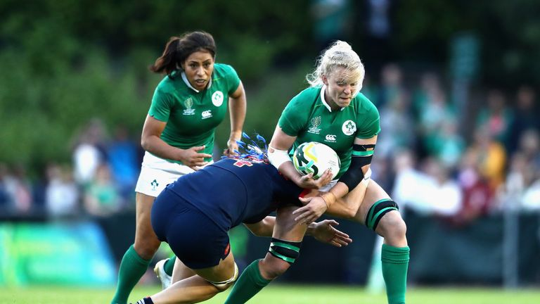 Ireland had plenty of the ball but could not break down the French defence