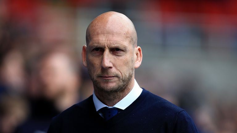Reading manager Jaap Stam
