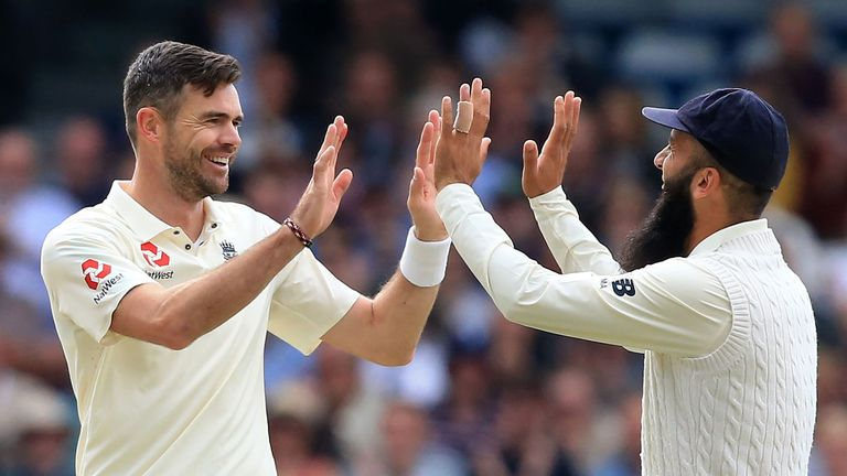 James Anderson is now just five short of 500 Test wickets