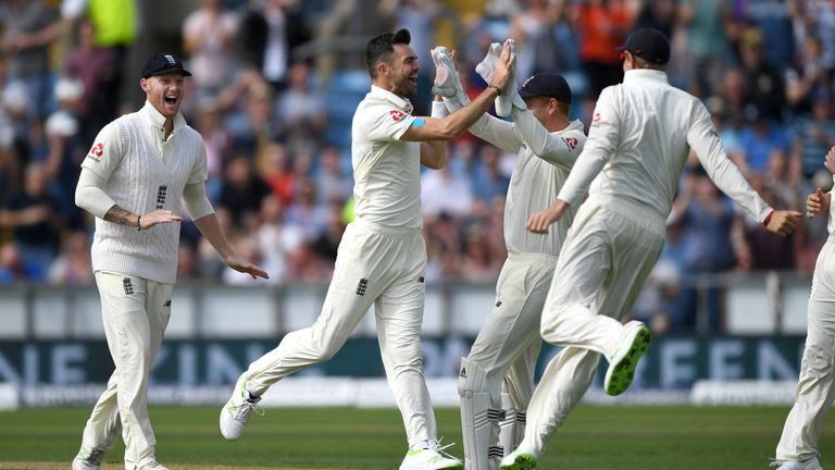 James Anderson is now just three short of 500 Test wickets