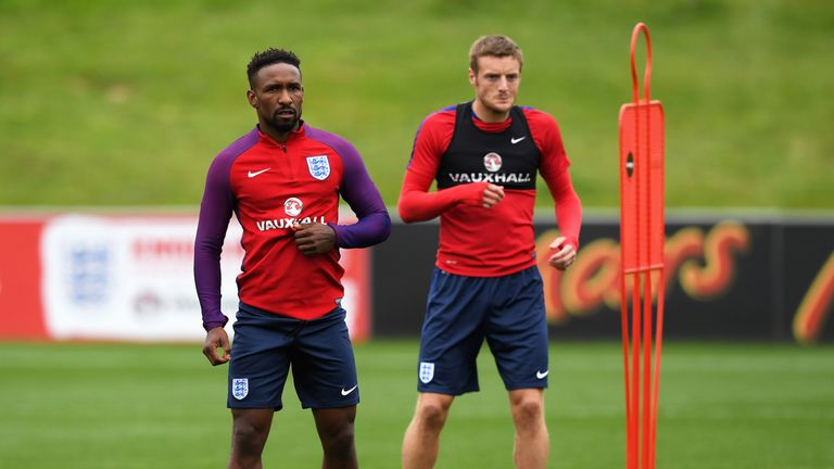 Jermain Defoe and Jamie Vardy are among a number of strikers hoping to challenge Kane for a starting place