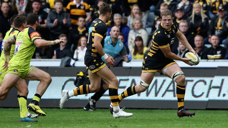 Joe Launchbury will continue to captain Wasps