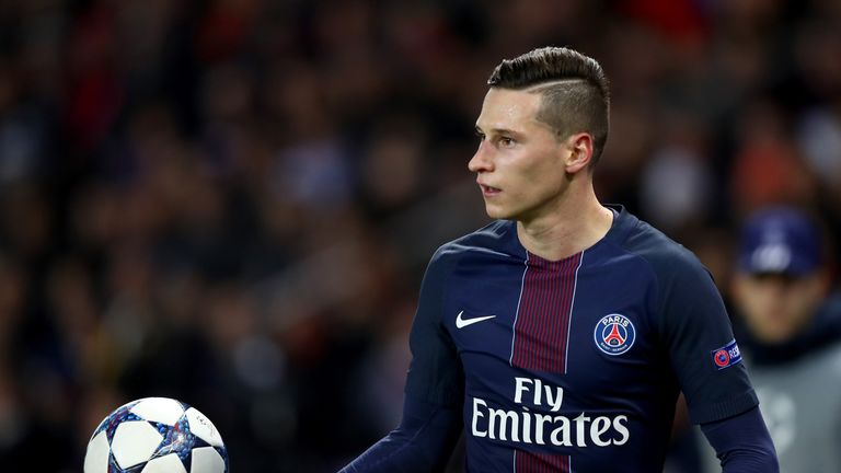 PSG midfielder Julian Draxler has dismissed reports linking him with a move to Bayern Munich