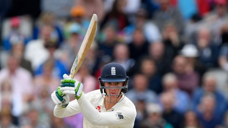 Keaton Jennings is one of five players with international experience in the Lions squad